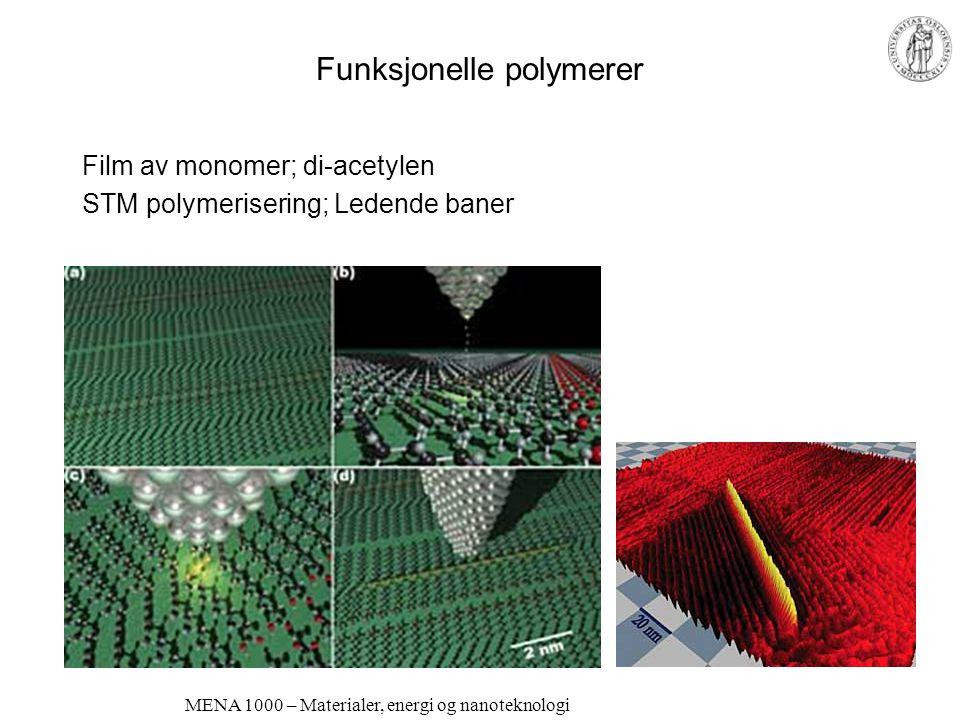 Funksjonelle polymerer