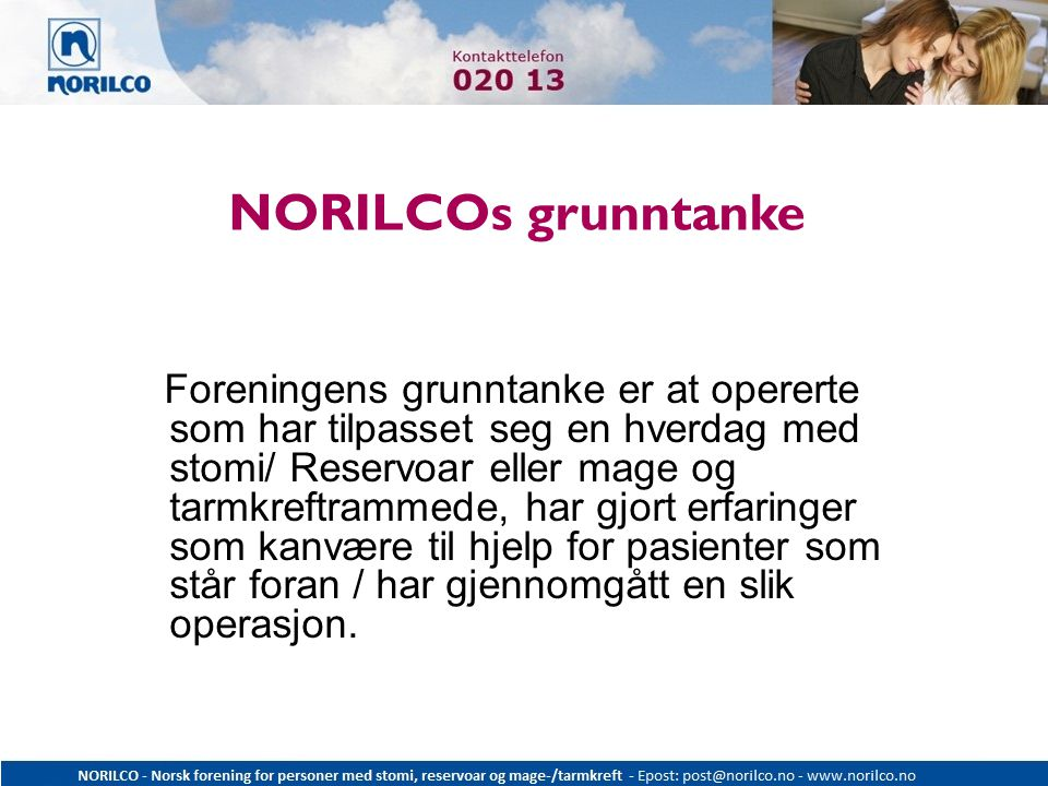 NORILCOs grunntanke
