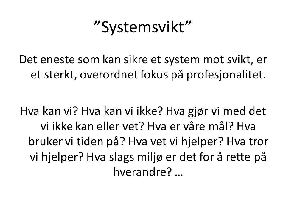 Systemsvikt