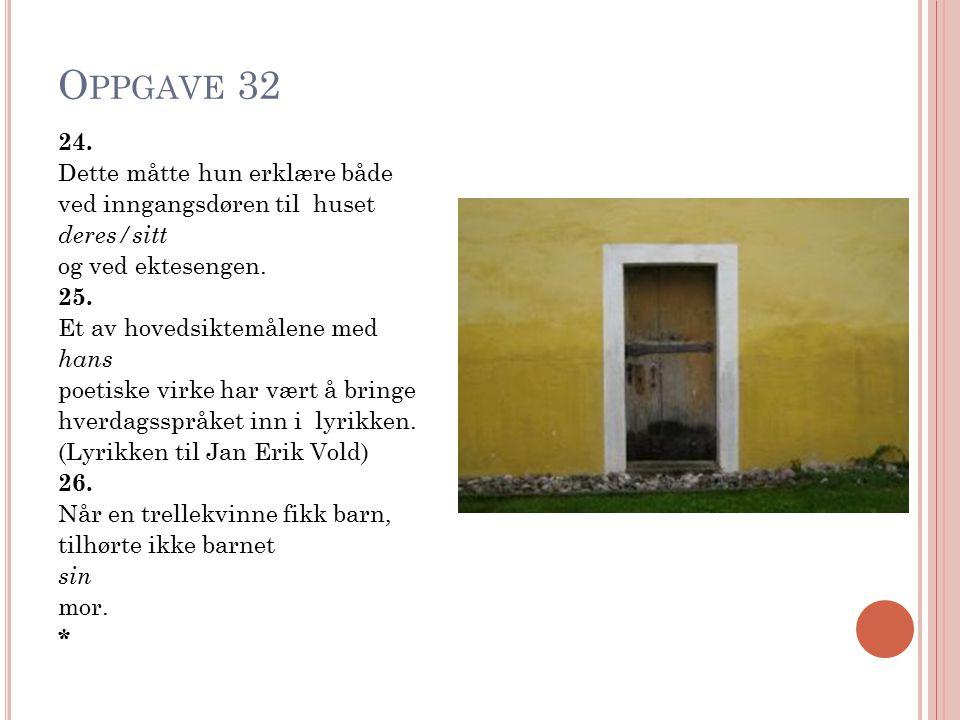 Oppgave 32