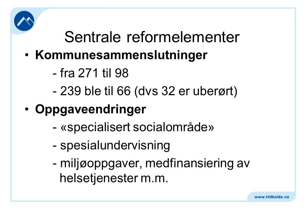 Sentrale reformelementer