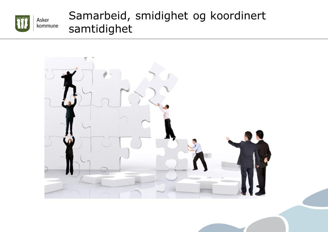 Samarbeid, smidighet og koordinert samtidighet