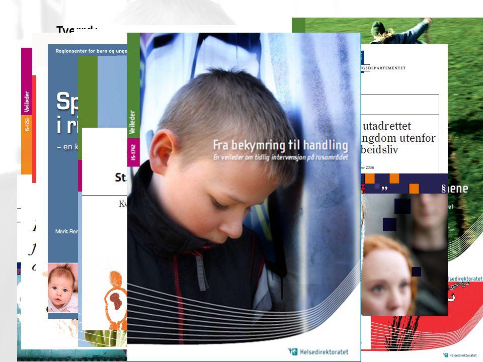 Tverrdepartemental satsing på tidlig innsats – medfører mange styringsdokumenter og veiledere