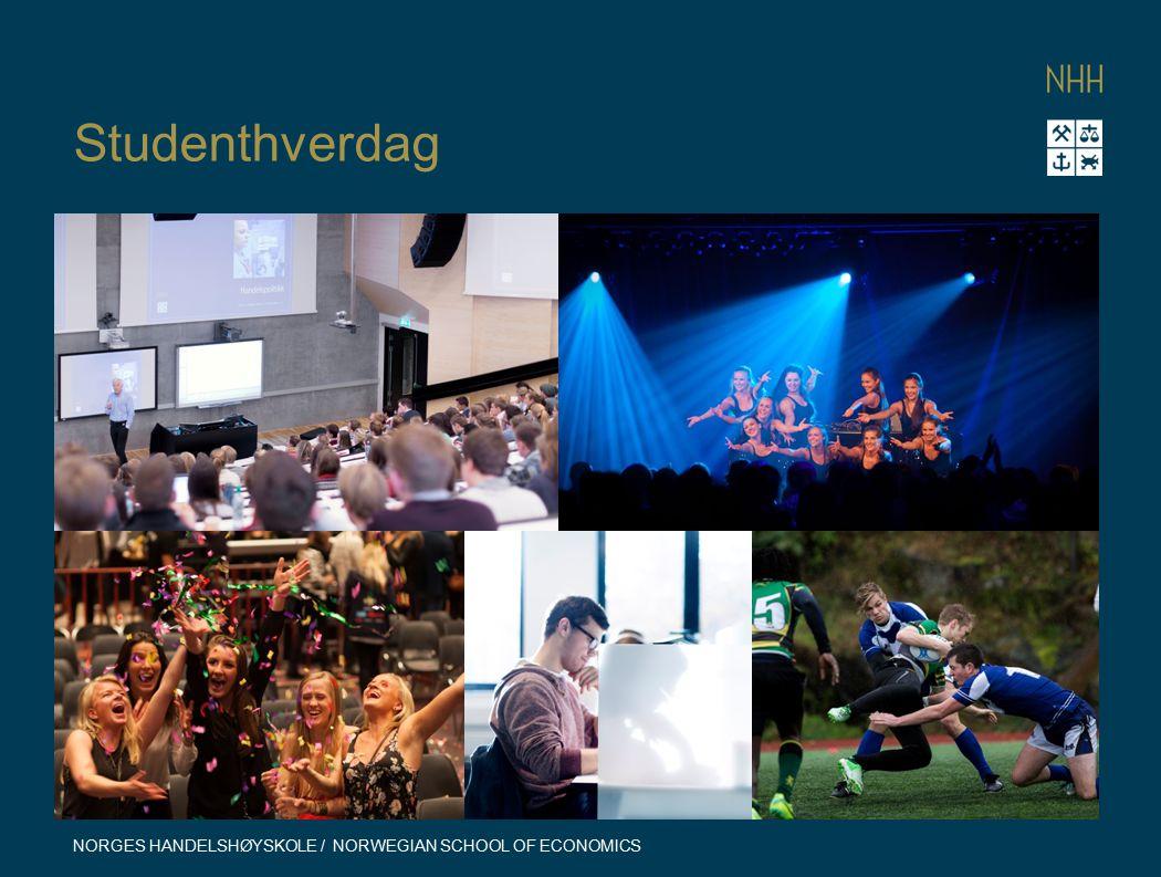 Studenthverdag NORGES HANDELSHØYSKOLE / NORWEGIAN SCHOOL OF ECONOMICS