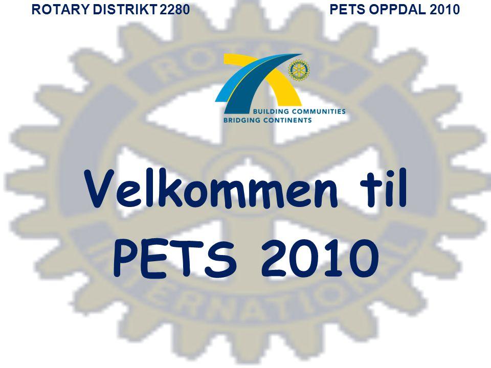 ROTARY DISTRIKT 2280 PETS OPPDAL 2010