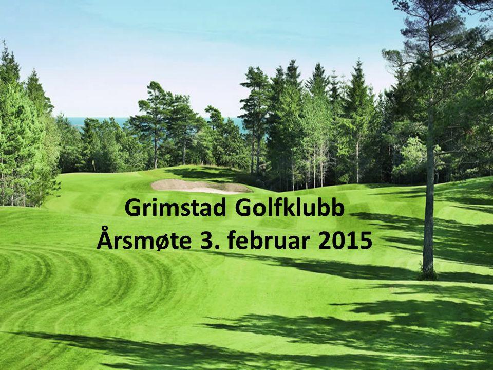 Grimstad Golfklubb Årsmøte 3. februar 2015