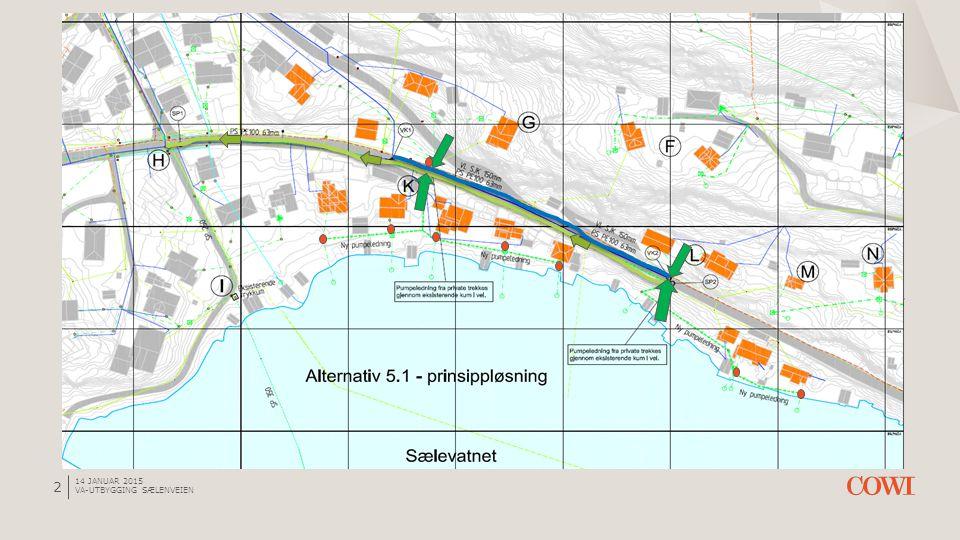14 januar 2015 VA-utbygging Sælenveien