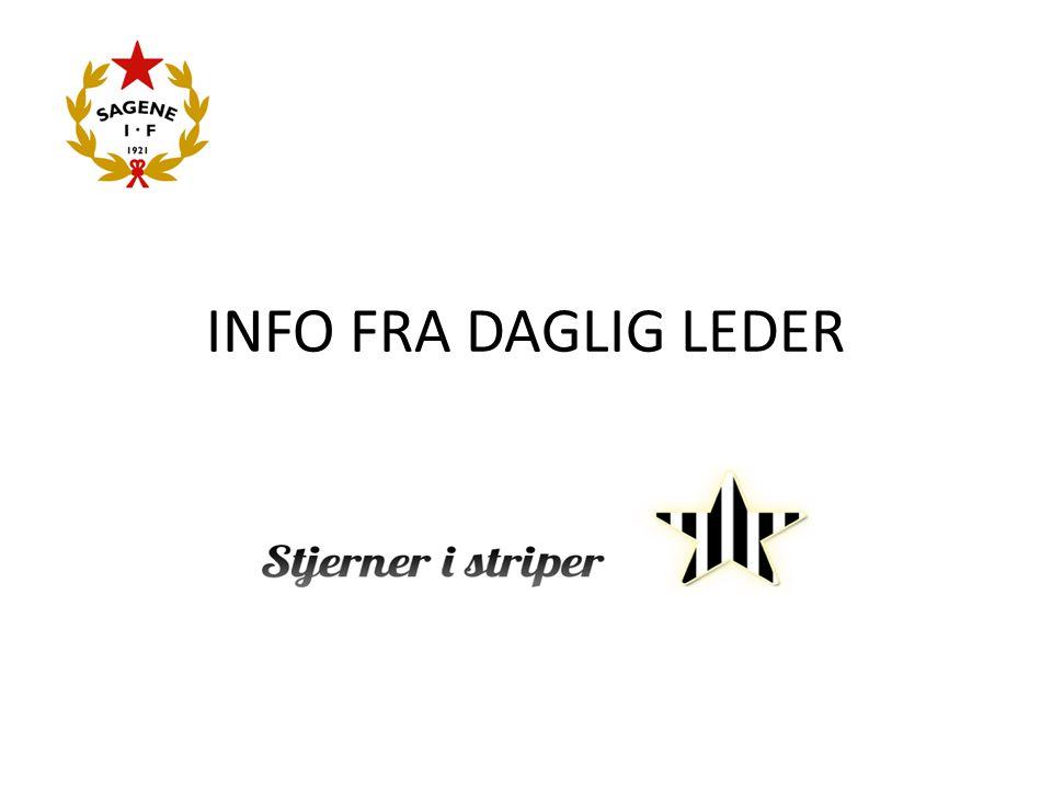 INFO FRA DAGLIG LEDER