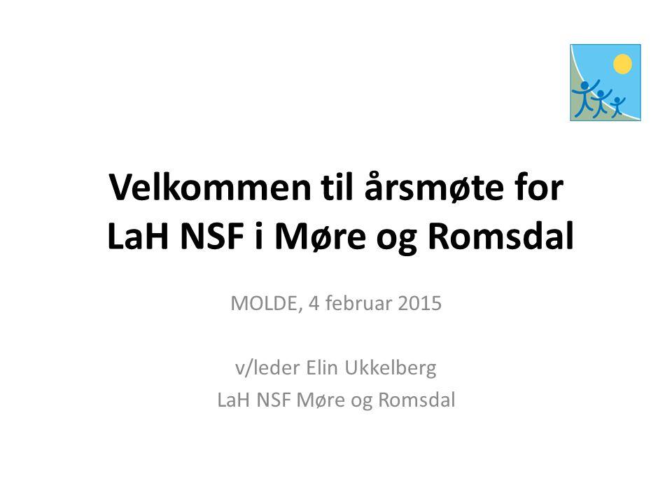 Velkommen til årsmøte for LaH NSF i Møre og Romsdal