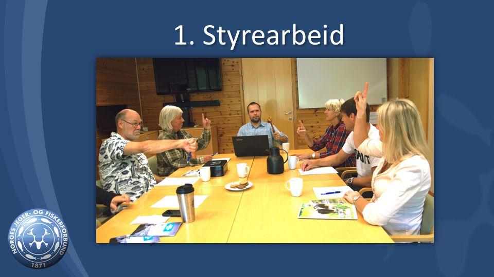 1. Styrearbeid