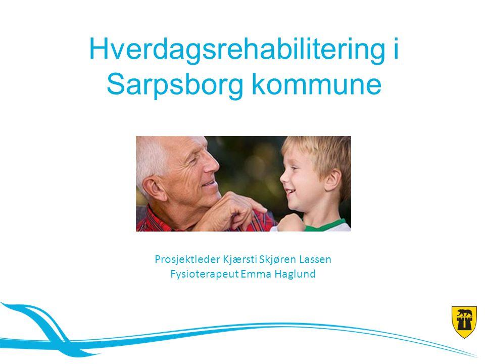 Hverdagsrehabilitering i Sarpsborg kommune