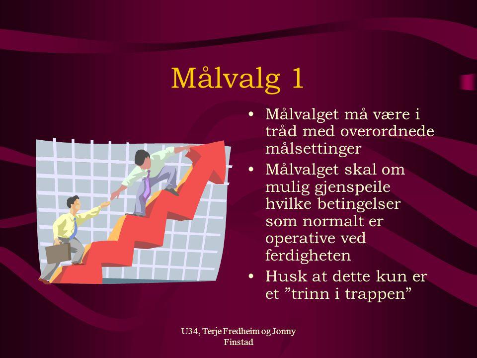 U34, Terje Fredheim og Jonny Finstad