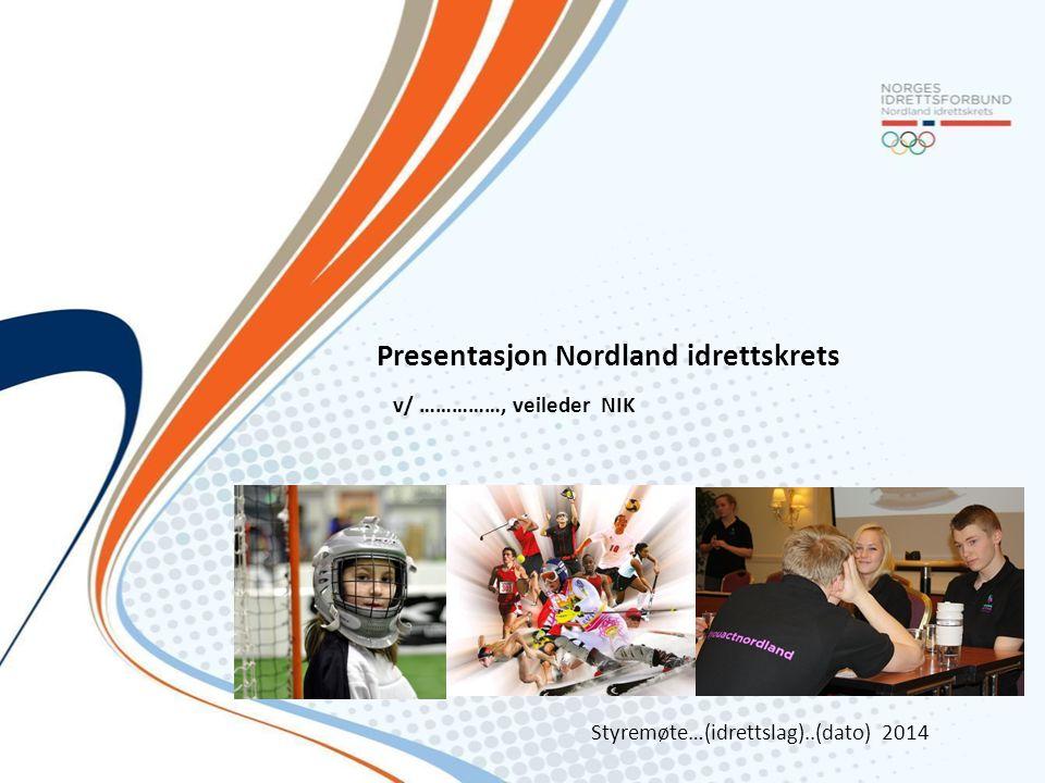 Presentasjon Nordland idrettskrets
