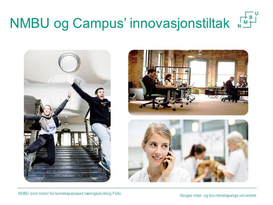 NMBU og Campus' innovasjonstiltak