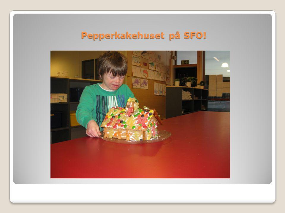 Pepperkakehuset på SFO!