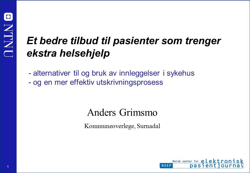 Anders Grimsmo Kommuneoverlege, Surnadal