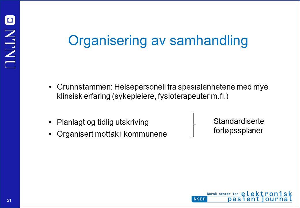 Organisering av samhandling