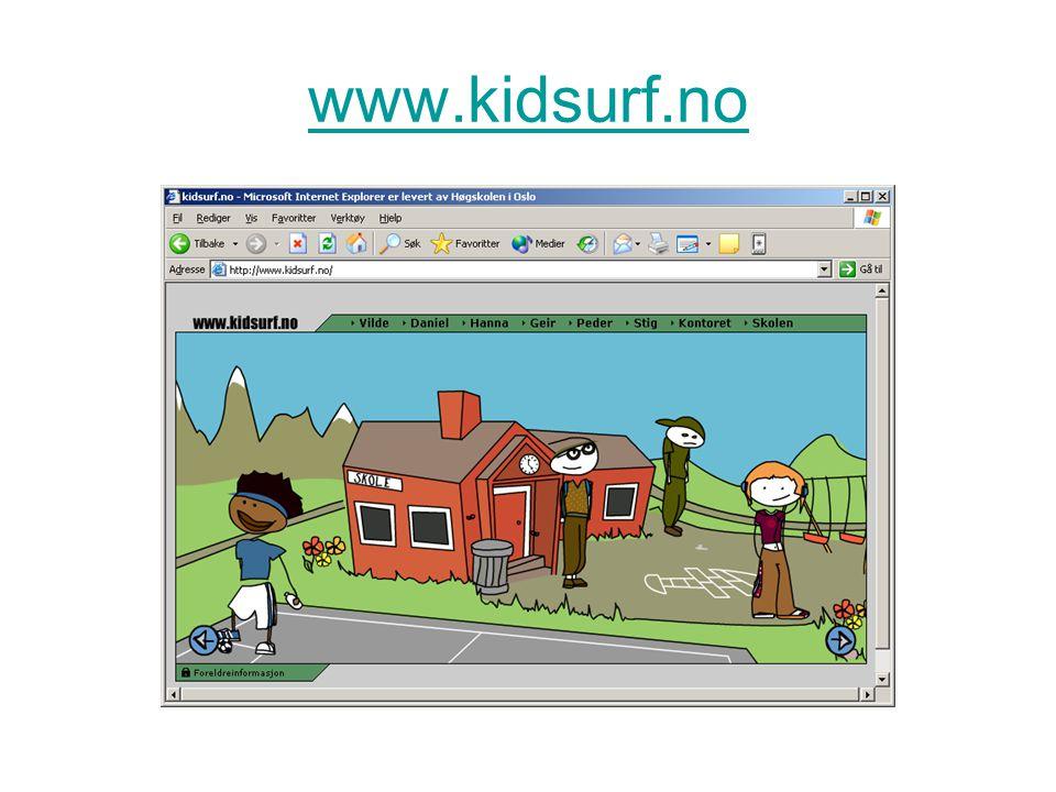 www.kidsurf.no Kidsurf (bilde, Telenor)