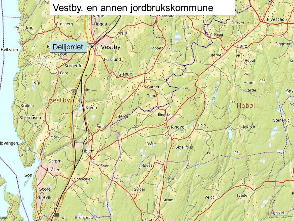 Vestby, en annen jordbrukskommune