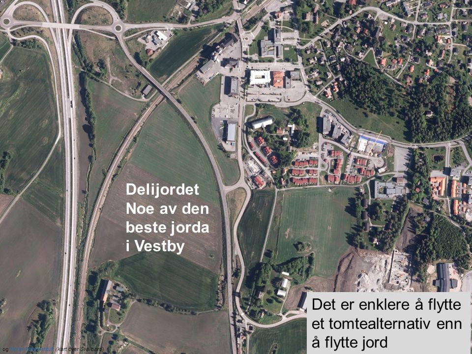 Delijordet Noe av den beste jorda i Vestby.