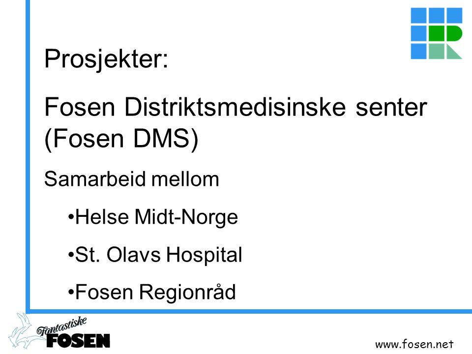 Fosen Distriktsmedisinske senter (Fosen DMS)