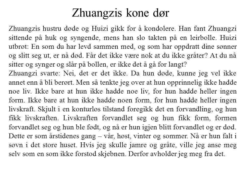 Zhuangzis kone dør