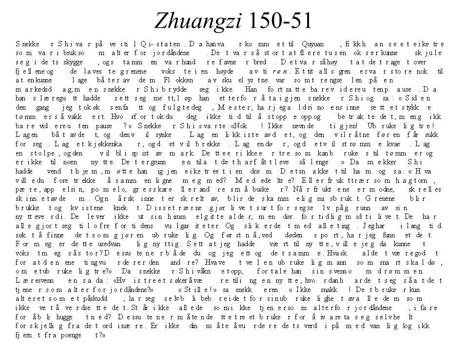 Zhuangzi 150-51