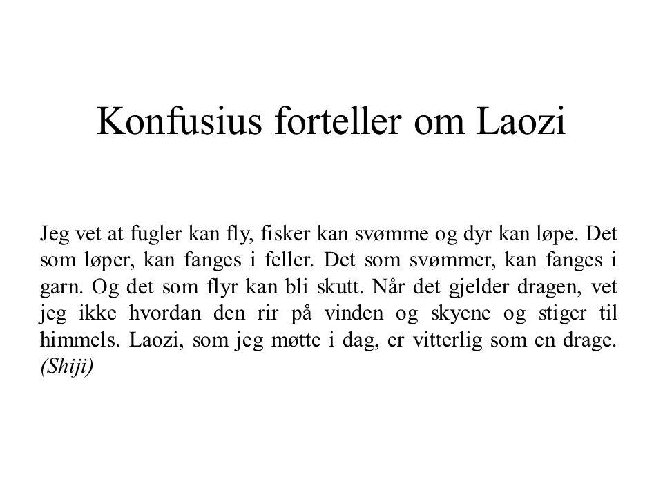 Konfusius forteller om Laozi