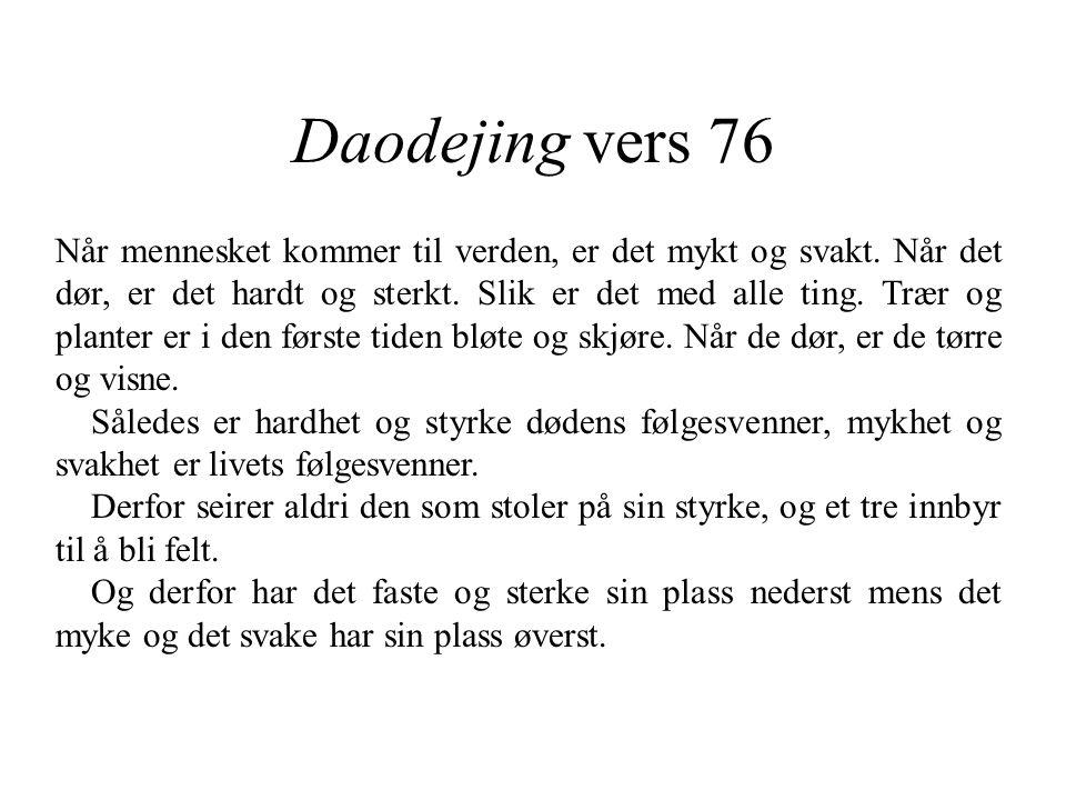 Daodejing vers 76