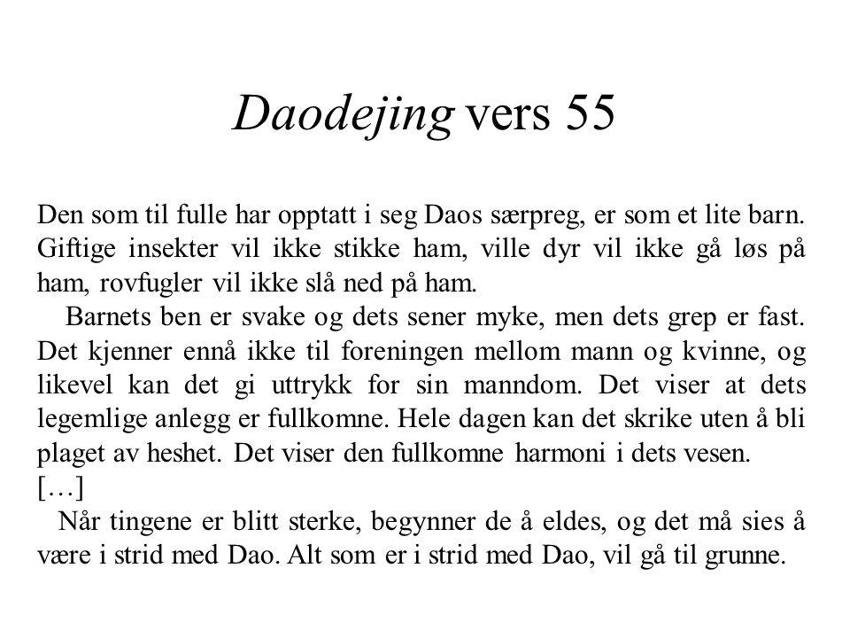Daodejing vers 55