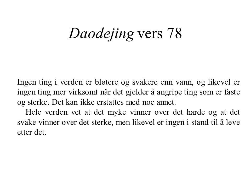 Daodejing vers 78