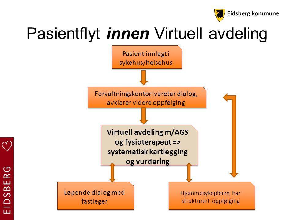 Pasientflyt innen Virtuell avdeling
