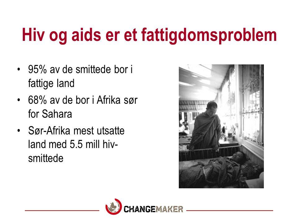 Hiv og aids er et fattigdomsproblem