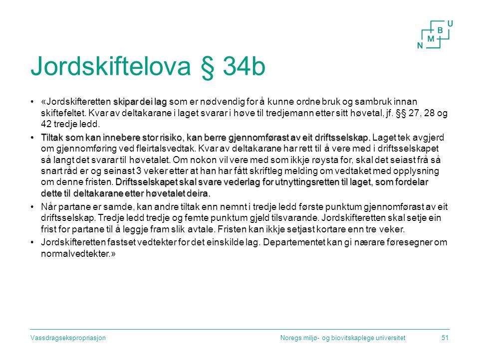 Jordskiftelova § 34b
