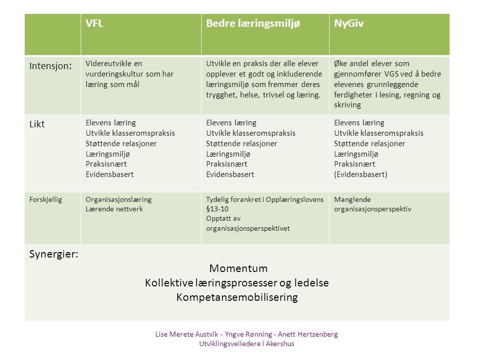 Kollektive læringsprosesser og ledelse Kompetansemobilisering
