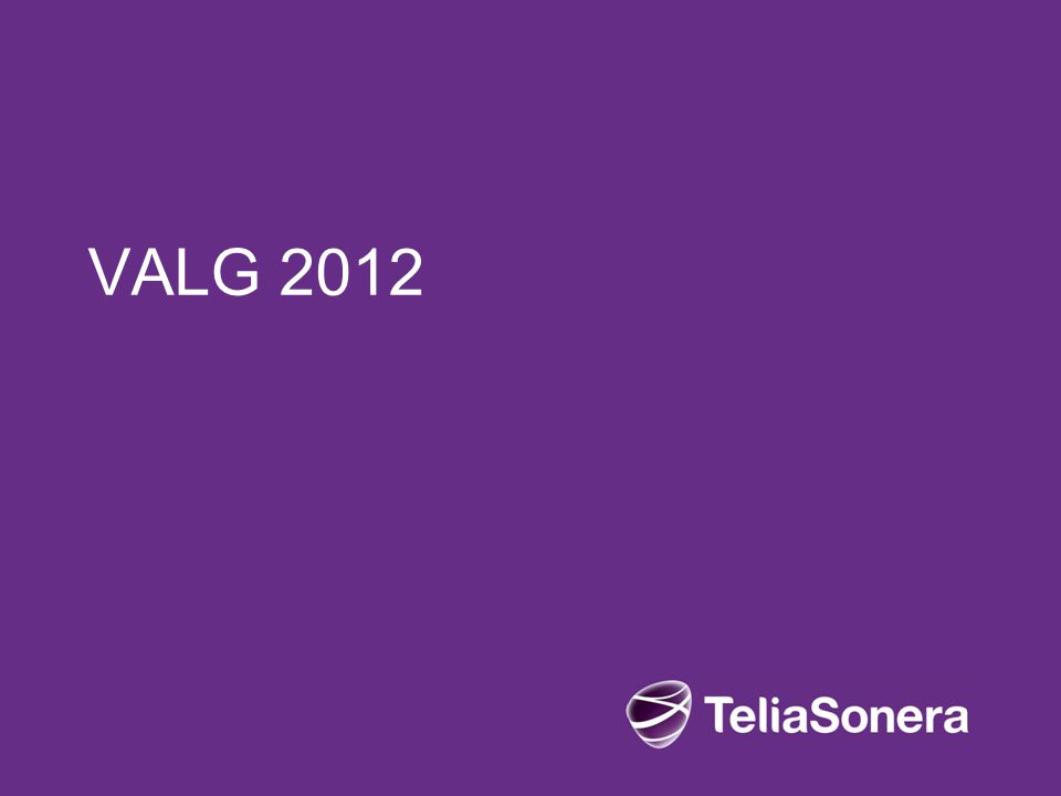 VALG 2012 Live 08/04/2017