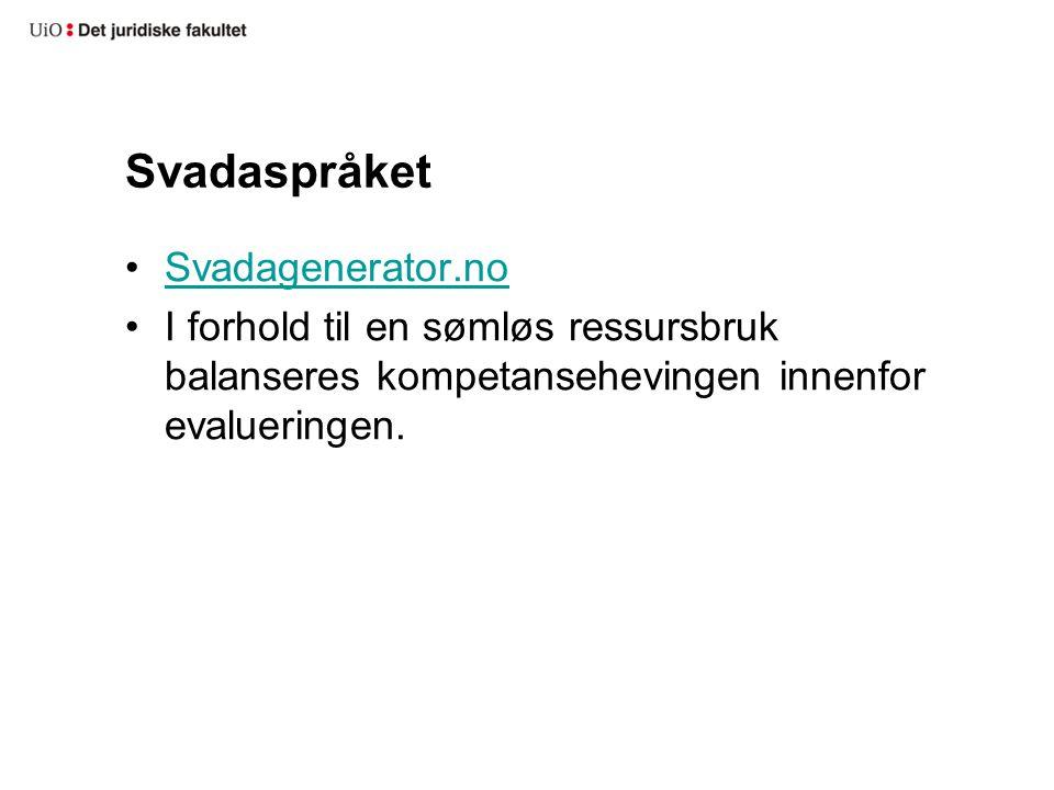 Svadaspråket Svadagenerator.no