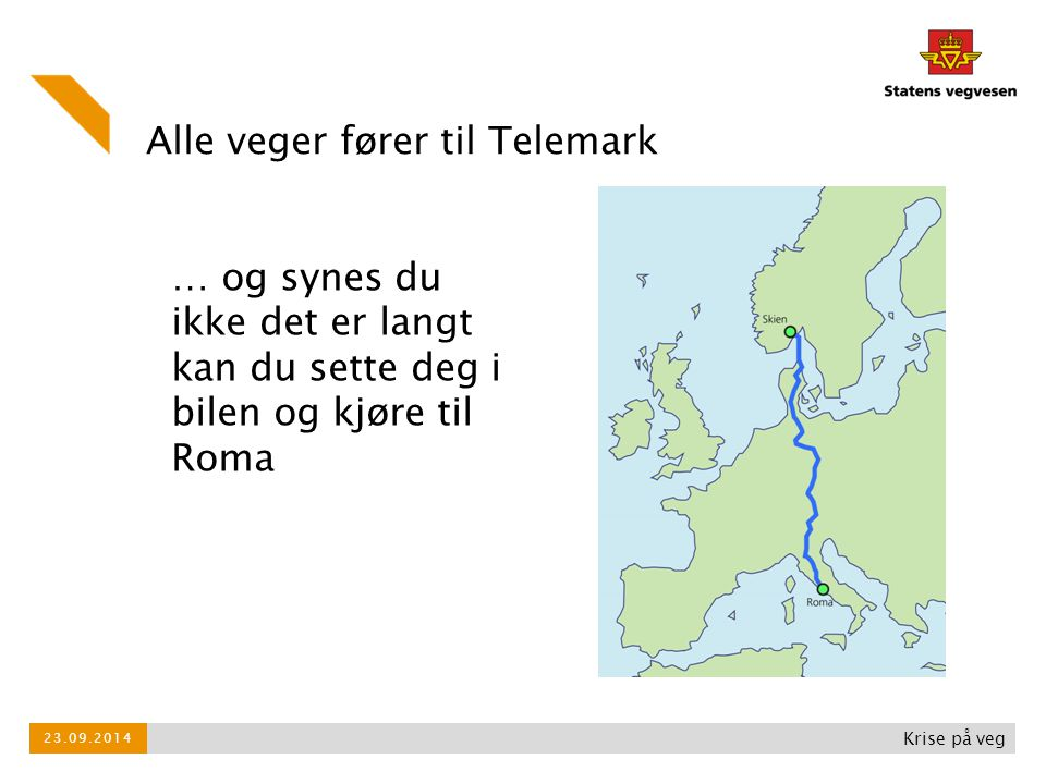 Alle veger fører til Telemark