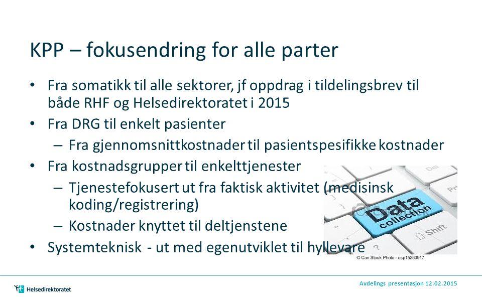 KPP – fokusendring for alle parter