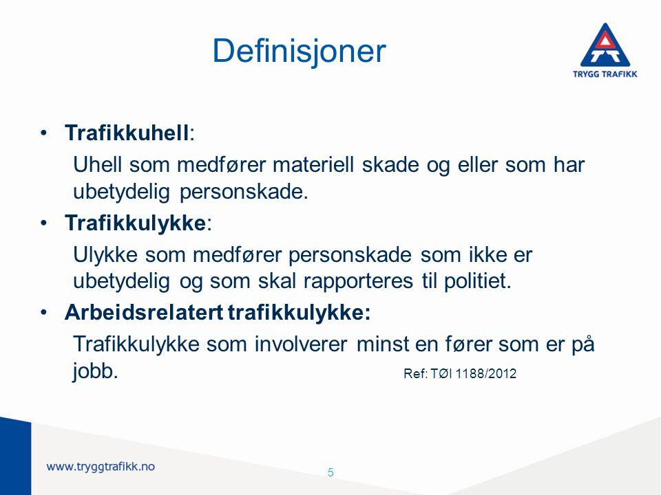 Definisjoner Trafikkuhell: