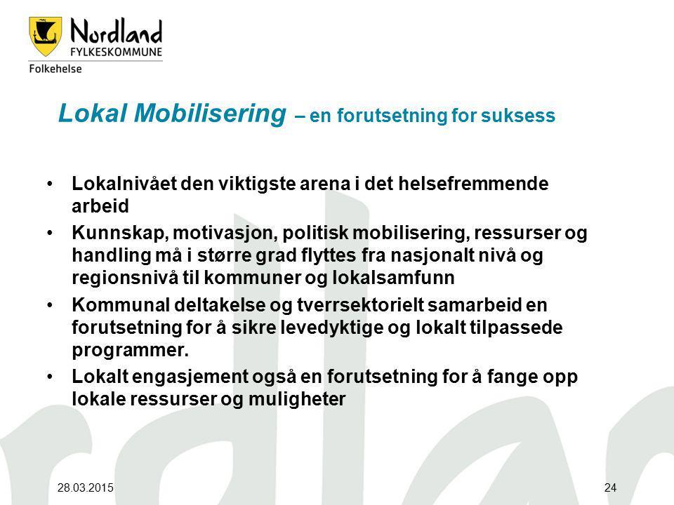 Lokal Mobilisering – en forutsetning for suksess