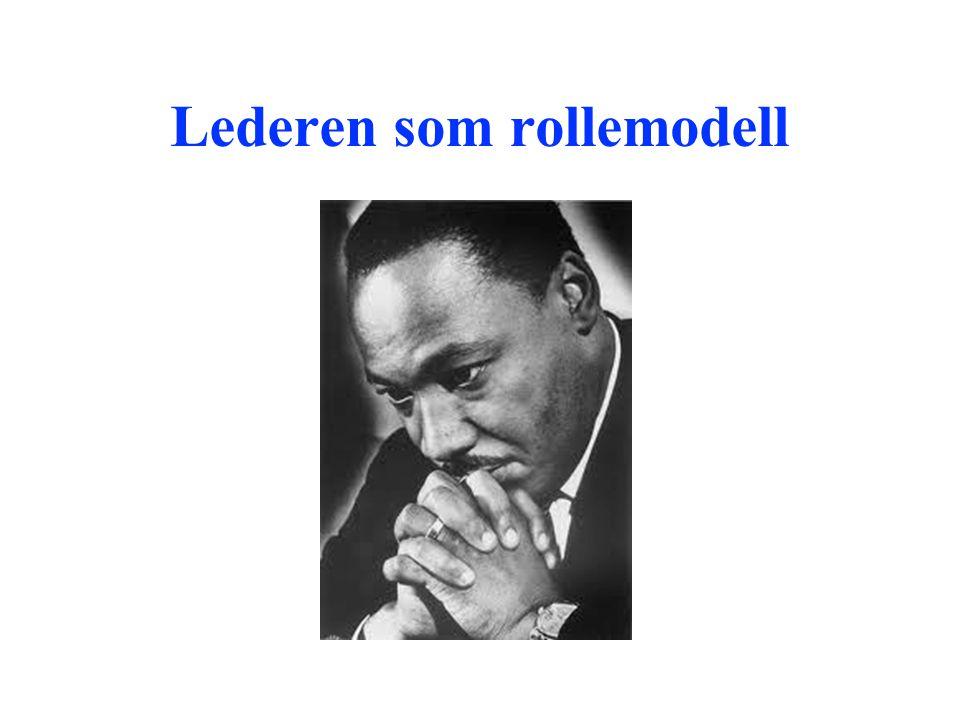 Lederen som rollemodell