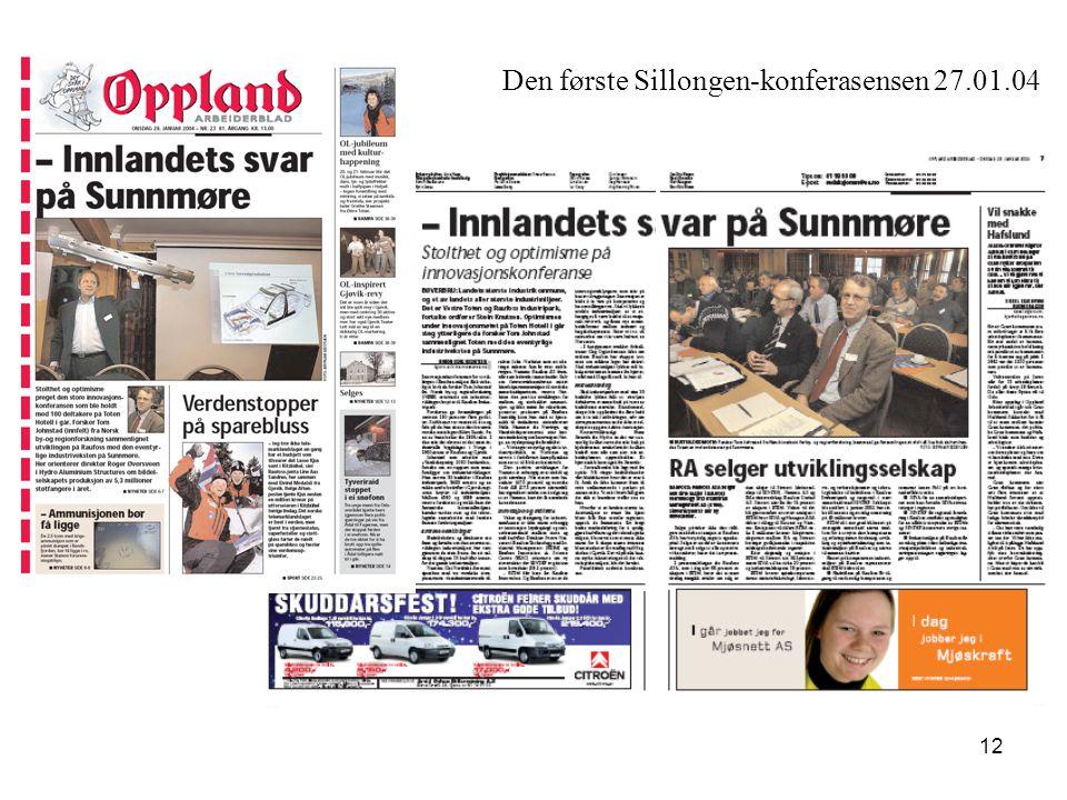Den første Sillongen-konferasensen 27.01.04