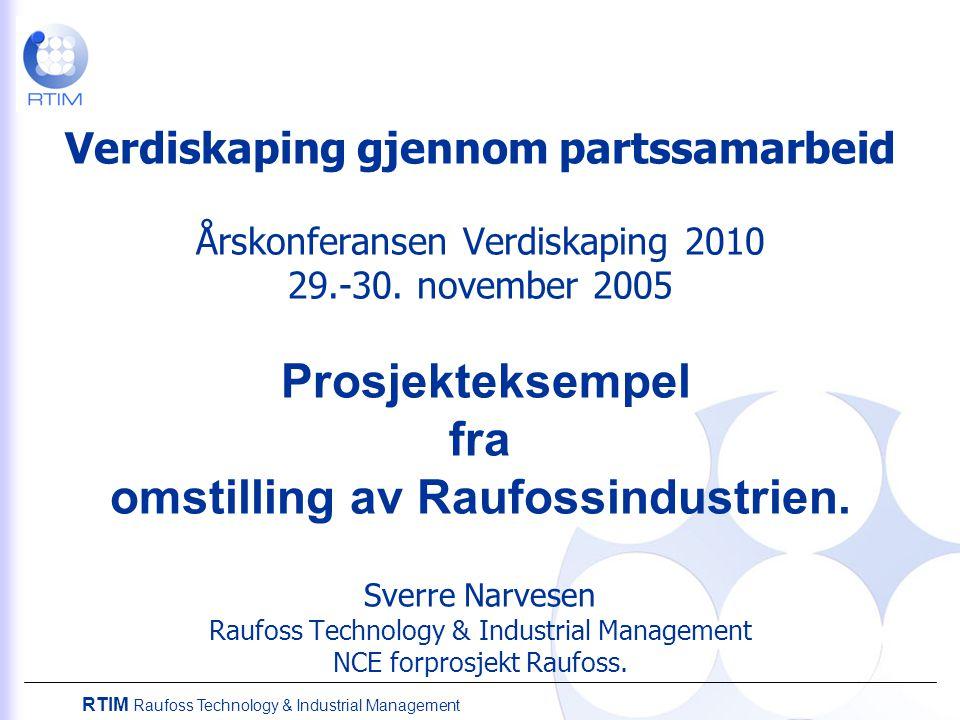 Verdiskaping gjennom partssamarbeid Årskonferansen Verdiskaping 2010 29.-30.
