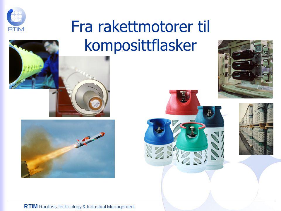 Fra rakettmotorer til komposittflasker