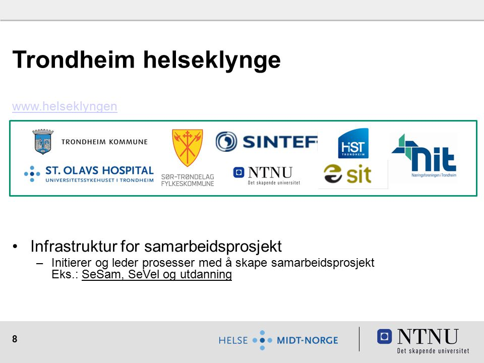 Trondheim helseklynge