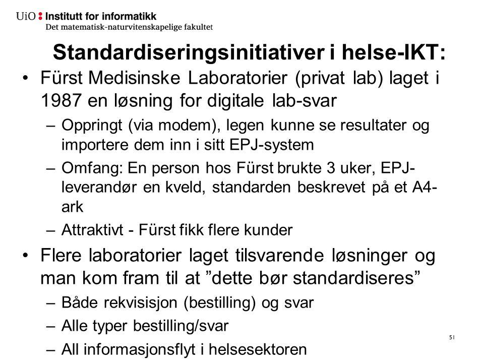 Helse NORD IKT Helse Nord IKT. (DIPS) Helse Midt-Norge. HEMIT AS. (DocuLive) Helse Sør-Øst. Sykehuspartner AS.