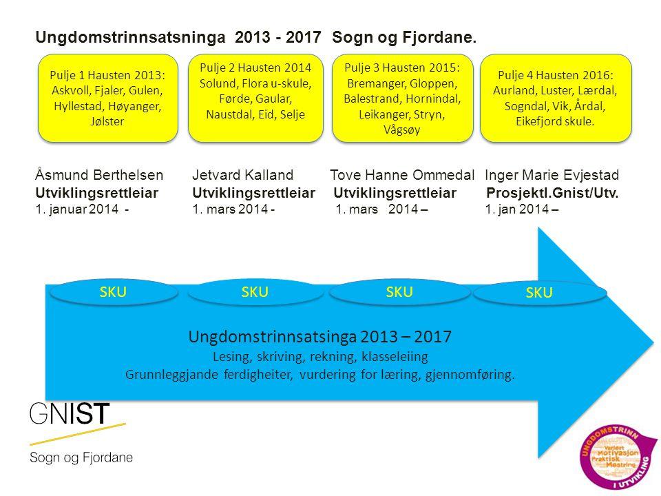 Ungdomstrinnsatsinga 2013 – 2017