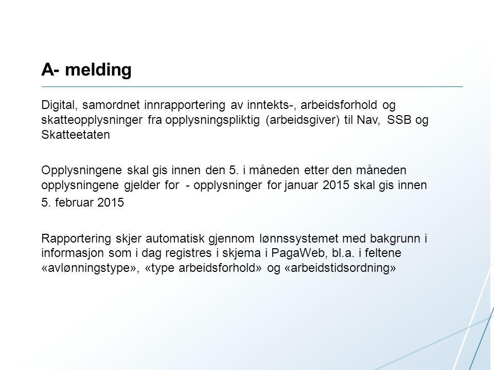A- melding