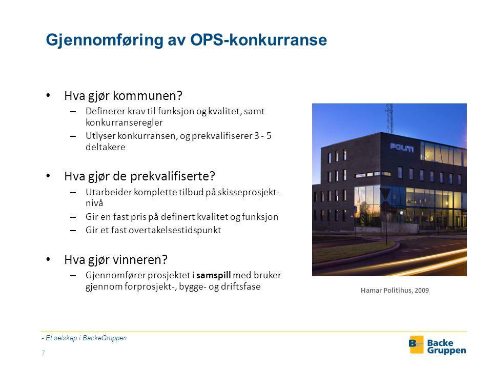 Gjennomføring av OPS-konkurranse